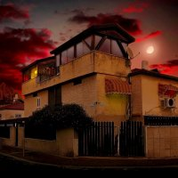 Ночной город Бат-Ям. :: Ron Леви