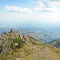 там в горах ... :: Горный турист Иван Иванов
