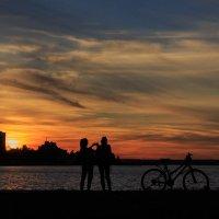 закат в петрозаводске :: юрий затонов