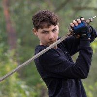 Когда сын играет в рыцарей :: Ирина Гринченко