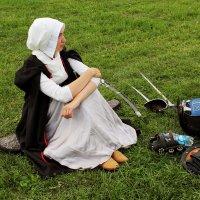 средневековый костюм XVII века. Польша :: elena manas