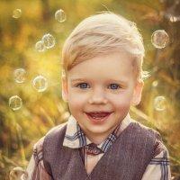 Волшебные пузырики... :: Юлия Тягушова