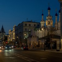 Ночная Москва :: Анастасия Елкина