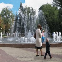 Воронеж - город в котором живу... Кольцовский сквер. :: Михаил Болдырев
