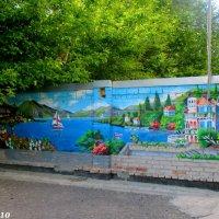Рисунки в одном из ростовских двориков :: Нина Бутко