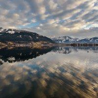 Зимние зарисовки...озеро Целлер.Австрия. :: Александр Вивчарик