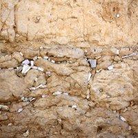 письма Всевышнему в Стене Плача в Старом Городе Иерусалима :: vasya-starik Старик