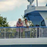 На палубе проплывающего теплохода. :: Анатолий. Chesnavik.