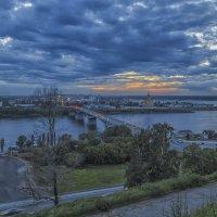 Канавинский мост на закате :: Сергей Цветков