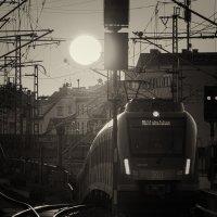 Выезд из туннеля на закате :: Сергей Келлер