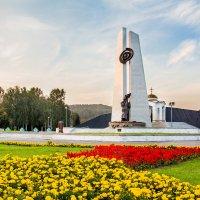 Мемориал шахтёрской славы. Стелла в Междуреченске :: Иван Иванов