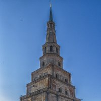 Утро у башни Сююмбике :: Сергей Цветков