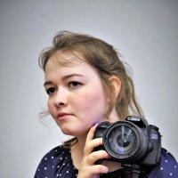Юная фотографиня :: Валерий Талашов