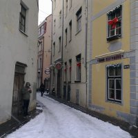 Улочки старой Риги... :: Наталия Павлова
