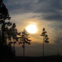 пейзаж на закате :: tgtyjdrf