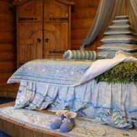 Спальня Деда Мороза :: Анна Воробьева
