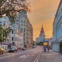 Москва.  Новая Басманная улица. :: В и т а л и й .... Л а б з о'в
