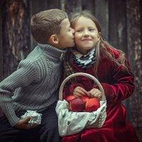Первый поцелуй :: Дмитрий Головин