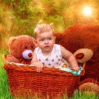 моя внучка Олеся :: Лена Юдина