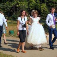 Про невесту в шлёпках:) :: Андрей Заломленков