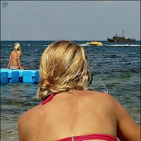 Море, пирс и блондинки с кораблём... :: Кай-8 (Ярослав) Забелин