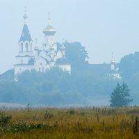 Никольская церковь туманным утром :: Сергей