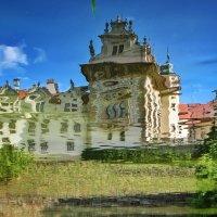 \\зазеркалье замка  Пругонице. :: Svetlana Sneg