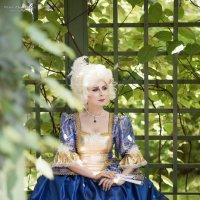 прекрасный век балов и шикарных платьев :: Ирина Симухова