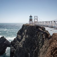 Point Bonita Lighthouse :: Anastasia Pozdniakova
