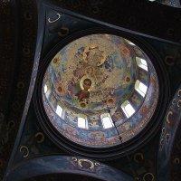АБХАЗИЯ. Монастырь св. Апостола Симона Кананита. КУПОЛ ХРАМА. :: mveselnickij