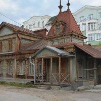 Старинное деревянное зодчество в Рязани :: Александр Буянов