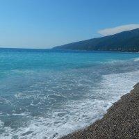 берег черного моря :: Лиза Ворончихина