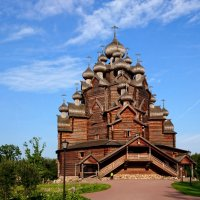 Церковь Покрова Пресвятой Богородицы в усадьбе Богословка :: Валерий Новиков