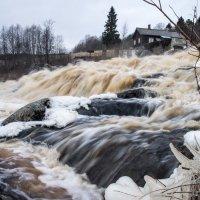 Разрушенная ГЭС на реке Соскуанйоки. Карелия :: Наталия Владимирова