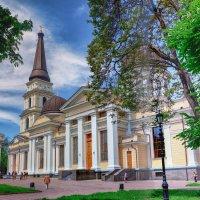 Утро на Соборной площади,-  Свято-Преображенский Собор. :: Вахтанг Хантадзе