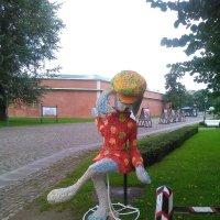 Скульптура зайчихи на Заячьем острове. (Санкт-Петербург). :: Светлана Калмыкова