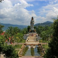 Вид с площадки храма Банг Рианг :: Александр