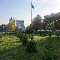 Утро в Актау :: Анатолий Чикчирный