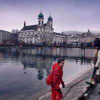 карнавал в Люцерне :: Elena Wymann