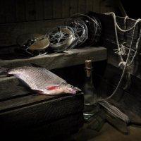 Кто о чём, а рыбак про рыбу. :: Сергей Фунтовой