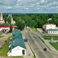 Старый центр Нерехты ... Осн. в 1214 году . :: Святец Вячеслав