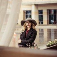 Девушка в шляпе :: Екатерина Ляпич