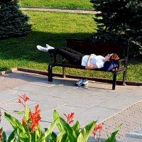 Відпочинок в сквері :: Степан Карачко