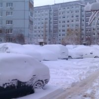 Снежный март 2014 :: Андрей Страхов