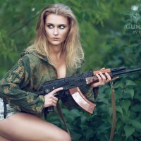 Gun & Girl :: Андрей Филиппов