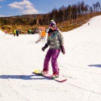 Сноубордистка :: Марина Кириллова