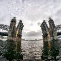Мост Петра Великого :: Алексей Сильников
