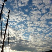 Облака и мачты :: Nina Yudicheva