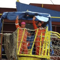 Моряки с Маршалловых островов :: Носов Юрий
