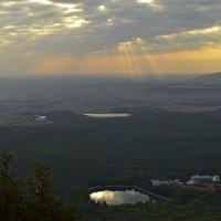 Утро на горе Железной.... :: Юрий Цыплятников